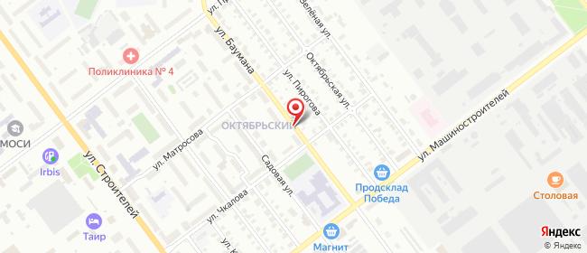 Карта расположения пункта доставки Билайн в городе Йошкар-Ола