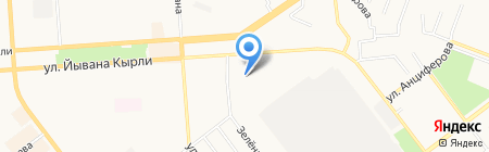 Самбо на карте Йошкар-Олы
