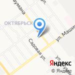 Лицей Бауманский на карте Йошкар-Олы