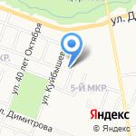Адвокатский кабинет Ткаченко Е.Л. на карте Йошкар-Олы