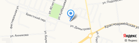 Средняя общеобразовательная школа №16 на карте Йошкар-Олы