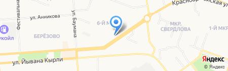 Мега Дом на карте Йошкар-Олы
