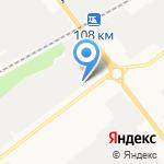 Спутник на карте Йошкар-Олы