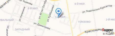 Стандарт-С на карте Йошкар-Олы