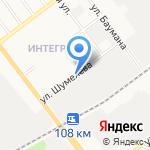 ЗМК Выбор на карте Йошкар-Олы