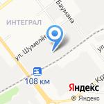 ГРОСС на карте Йошкар-Олы