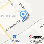 Автомаг на карте Йошкар-Олы