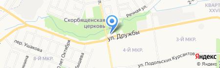 АГЗС на карте Йошкар-Олы