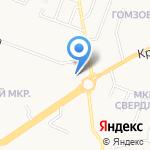 Мастерская по ремонту одежды и кожгалантереи на карте Йошкар-Олы