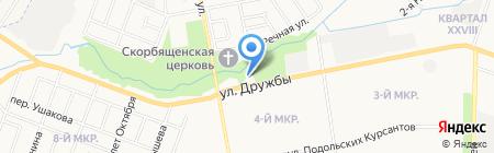 Примирение на карте Йошкар-Олы