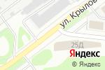 Схема проезда до компании Удачный в Йошкар-Оле