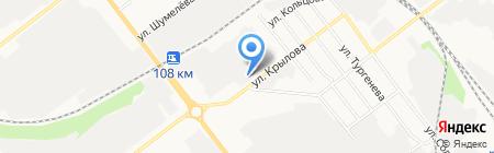 Геникс на карте Йошкар-Олы