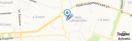 Магазин товаров смешанного типа на карте Йошкар-Олы