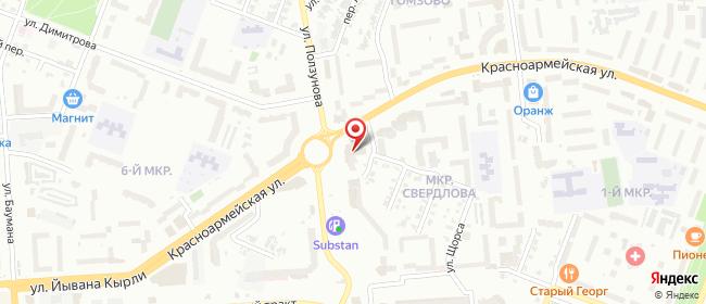 Карта расположения пункта доставки Халва в городе Йошкар-Ола