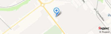 Гардиан на карте Йошкар-Олы