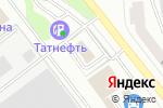 Схема проезда до компании Автомоечный комплекс в Йошкар-Оле