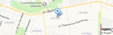 Детский сад №51 Подсолнушек на карте Йошкар-Олы