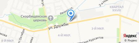 Семеновские районные электрические сети на карте Йошкар-Олы