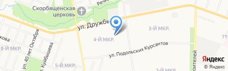 Инженер на карте Йошкар-Олы