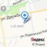 Вольтаж на карте Йошкар-Олы