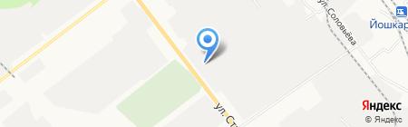 Бункер на карте Йошкар-Олы