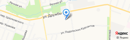 Библиотека №1 на карте Йошкар-Олы