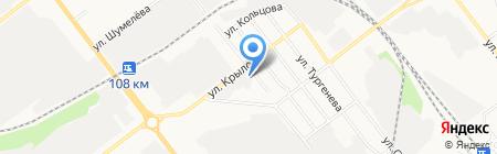 Пересвет на карте Йошкар-Олы