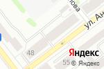 Схема проезда до компании КДМ-Сервис в Йошкар-Оле
