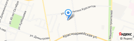Детский сад №79 Золотой колосок на карте Йошкар-Олы