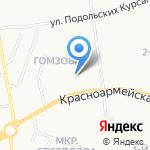 Бюро приватизации и обмена жилых помещений г. Йошкар-Олы на карте Йошкар-Олы