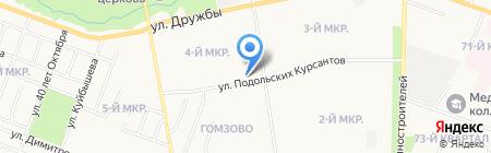 Банкомат АК БАРС БАНК на карте Йошкар-Олы