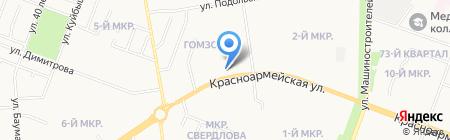 ЦентрОбувь на карте Йошкар-Олы