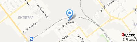 Омега Металл на карте Йошкар-Олы