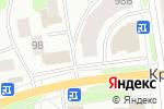 Схема проезда до компании Фант в Йошкар-Оле