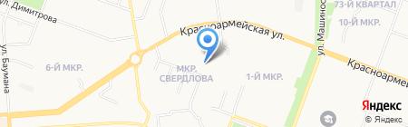 Марийский национальный детский сад №29 на карте Йошкар-Олы