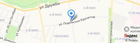 Хлебный дар на карте Йошкар-Олы