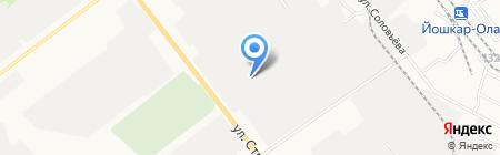 RexStar на карте Йошкар-Олы