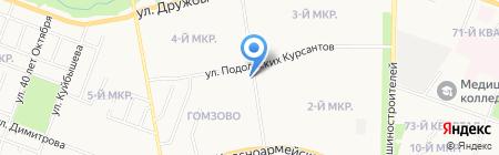 Киоск по продаже проездных билетов на карте Йошкар-Олы