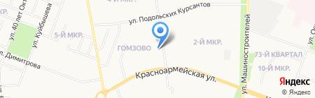 Титул плюс на карте Йошкар-Олы