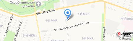 ДеАль на карте Йошкар-Олы
