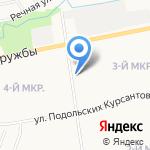 Марийское районное нефтепроводное управление на карте Йошкар-Олы