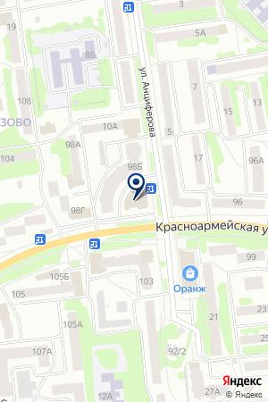 Заводские окна на карте Йошкар-Олы