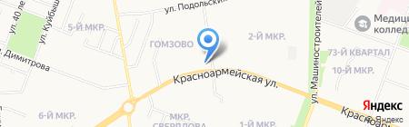 Галина на карте Йошкар-Олы