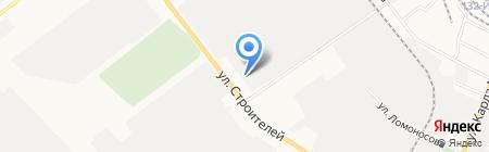 Центр медицинской и социальной реабилитации УФСИН России по Республике Марий Эл на карте Йошкар-Олы