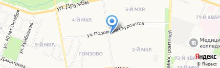 Промтовары на карте Йошкар-Олы