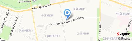 Эмиль на карте Йошкар-Олы