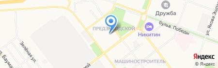 Марикоммунэнерго на карте Йошкар-Олы