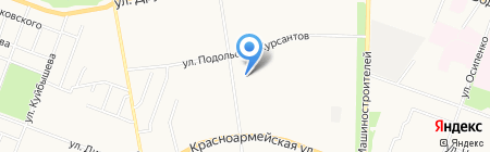 Фея Люкс на карте Йошкар-Олы