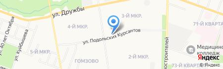Фейерверки на карте Йошкар-Олы