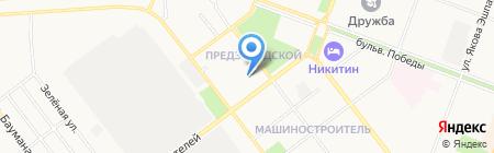Центр автомобильной безопасности на карте Йошкар-Олы
